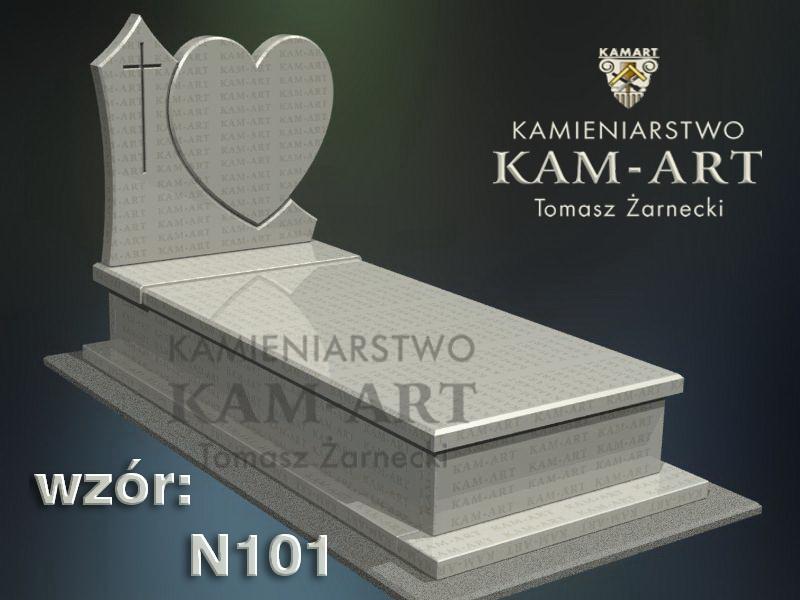 wzór-nagrobka-granitowego-kamieniarstwo-Kraków-101