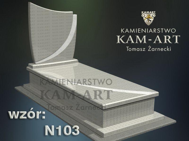 wzór-nagrobka-granitowego-kamieniarstwo-Kraków-103