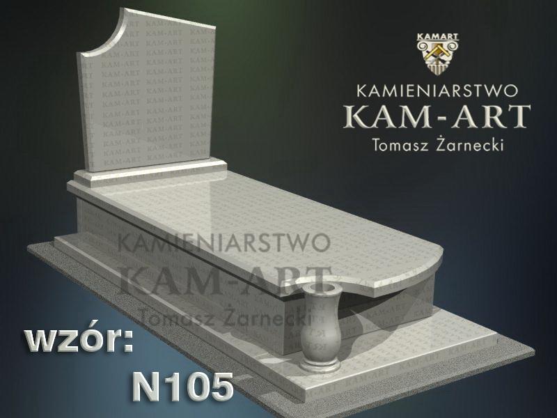 wzór-nagrobka-granitowego-kamieniarstwo-Kraków-105