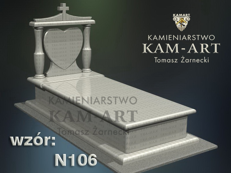 wzór-nagrobka-granitowego-kamieniarstwo-Kraków-106