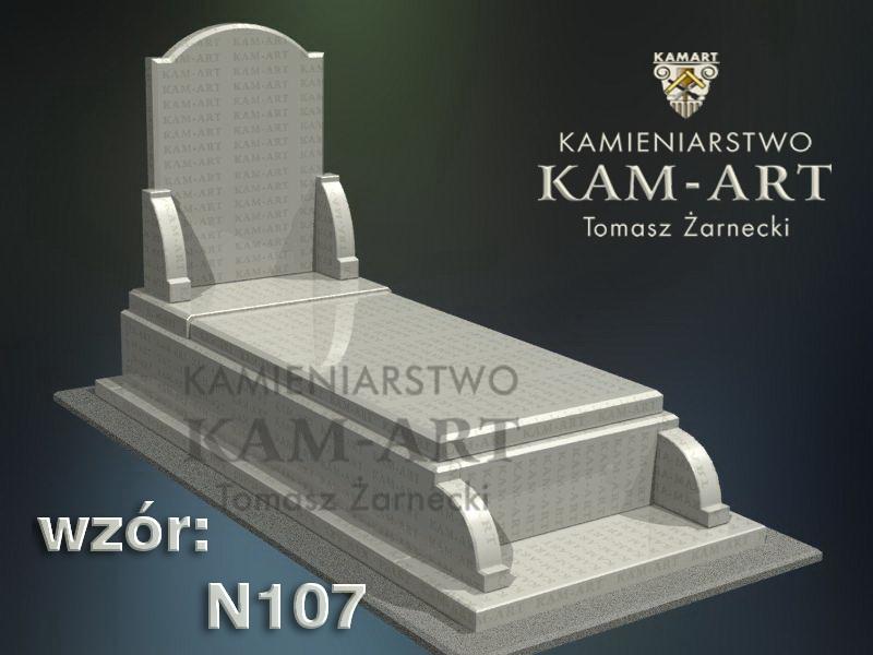 wzór-nagrobka-granitowego-kamieniarstwo-Kraków-107