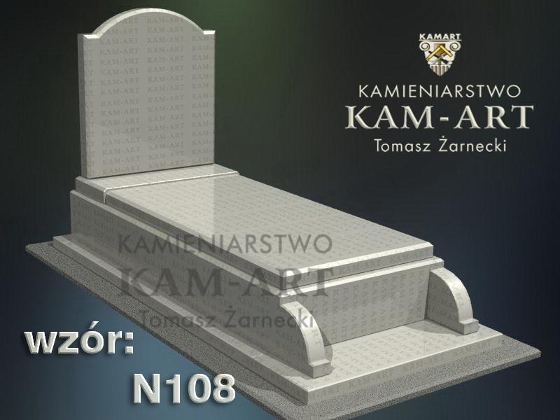 wzór-nagrobka-granitowego-kamieniarstwo-Kraków-108