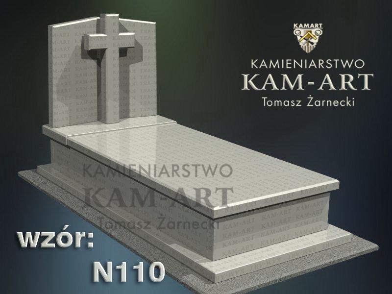 wzór-nagrobka-granitowego-kamieniarstwo-Kraków-110