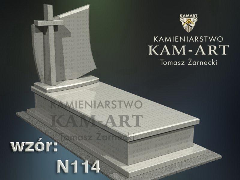 wzór-nagrobka-granitowego-kamieniarstwo-Kraków-114