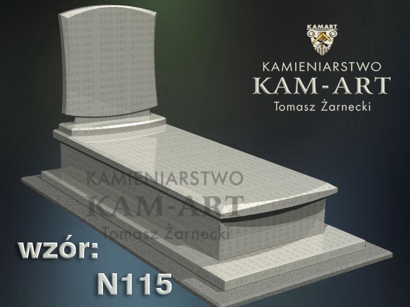 wzór-nagrobka-granitowego-kamieniarstwo-Kraków-115
