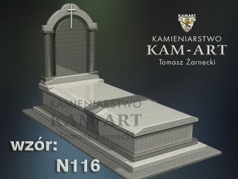 wzór-nagrobka-granitowego-kamieniarstwo-Kraków-116