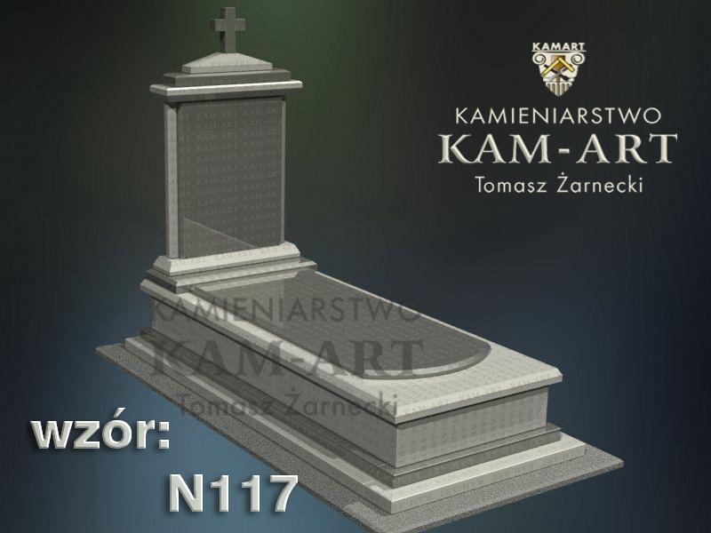 wzór-nagrobka-granitowego-kamieniarstwo-Kraków-117