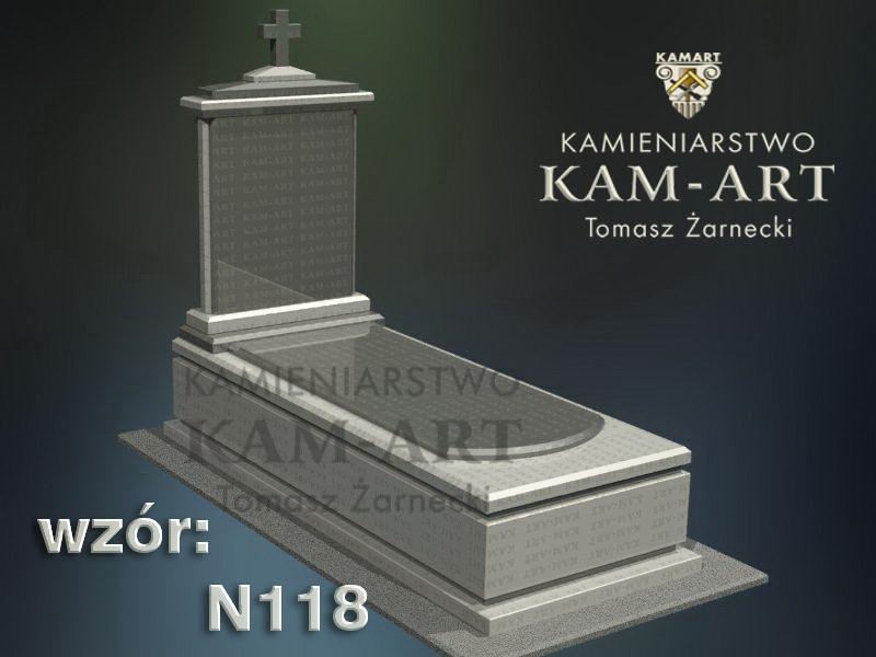 wzór-nagrobka-granitowego-kamieniarstwo-Kraków-118
