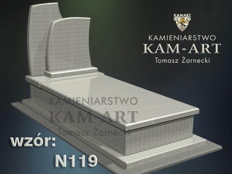 wzór-nagrobka-granitowego-kamieniarstwo-Kraków-119