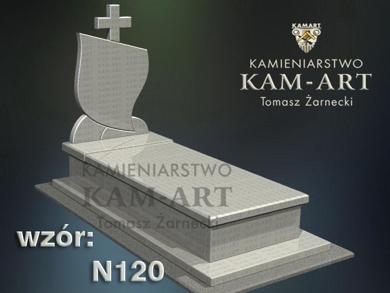 wzór-nagrobka-granitowego-kamieniarstwo-Kraków-120