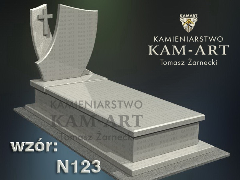 wzór-nagrobka-granitowego-kamieniarstwo-Kraków-123
