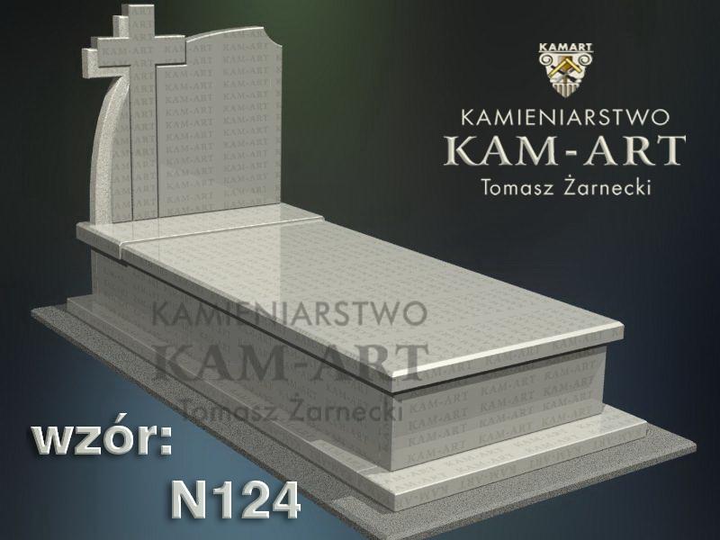 wzór-nagrobka-granitowego-kamieniarstwo-Kraków-124