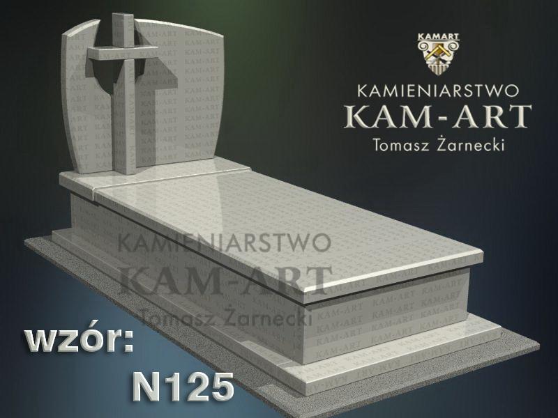 wzór-nagrobka-granitowego-kamieniarstwo-Kraków-125