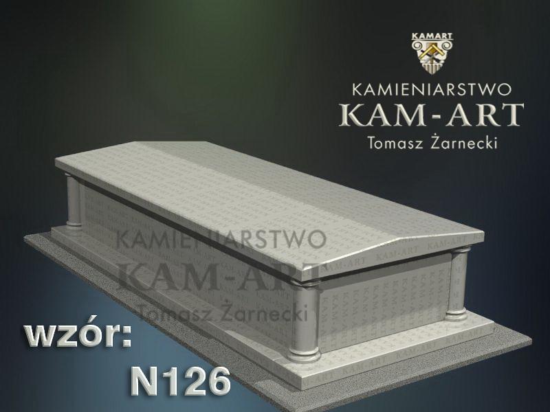 wzór-nagrobka-granitowego-kamieniarstwo-Kraków-126