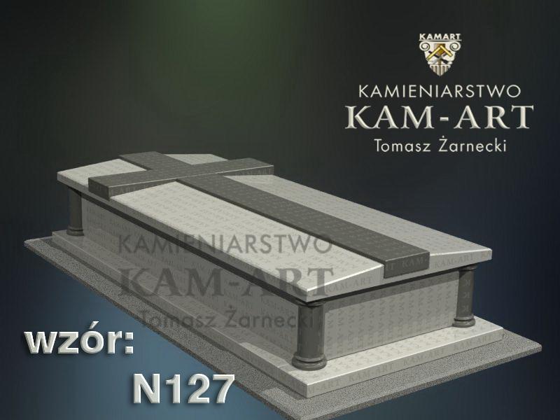 wzór-nagrobka-granitowego-kamieniarstwo-Kraków-127