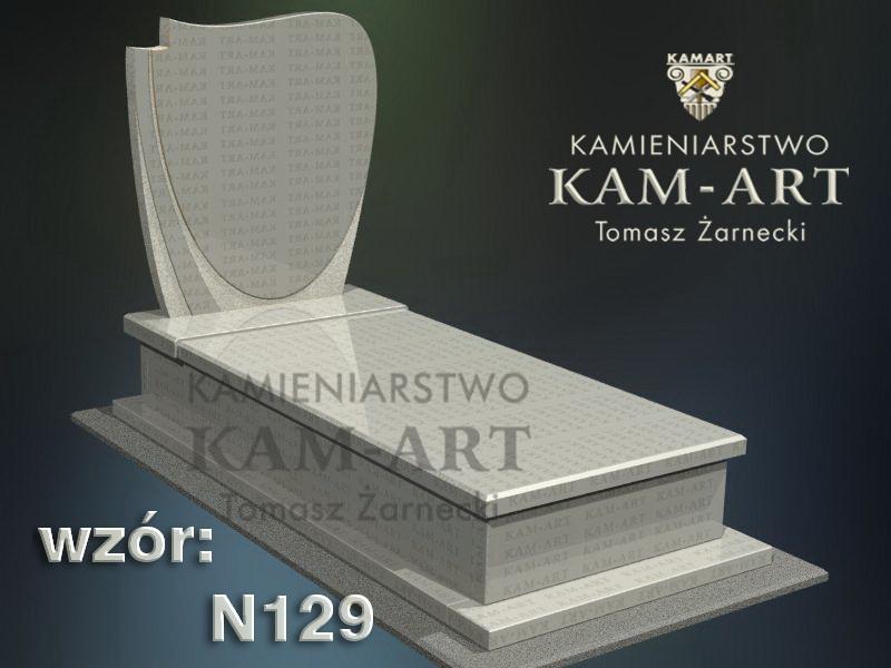 wzór-nagrobka-granitowego-kamieniarstwo-Kraków-129