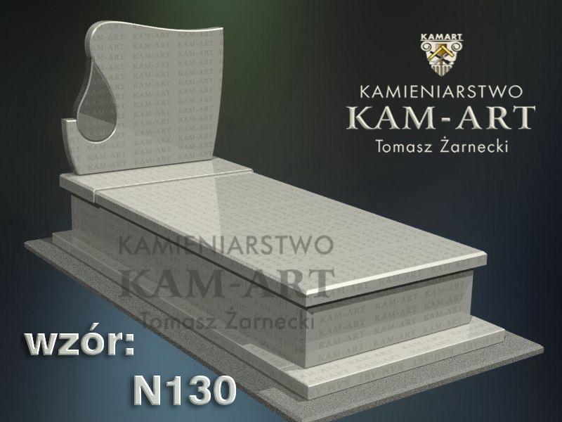 wzór-nagrobka-granitowego-kamieniarstwo-Kraków-130