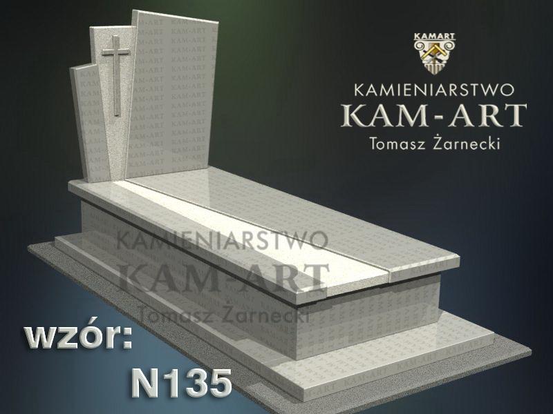 wzór-nagrobka-granitowego-kamieniarstwo-Kraków-135