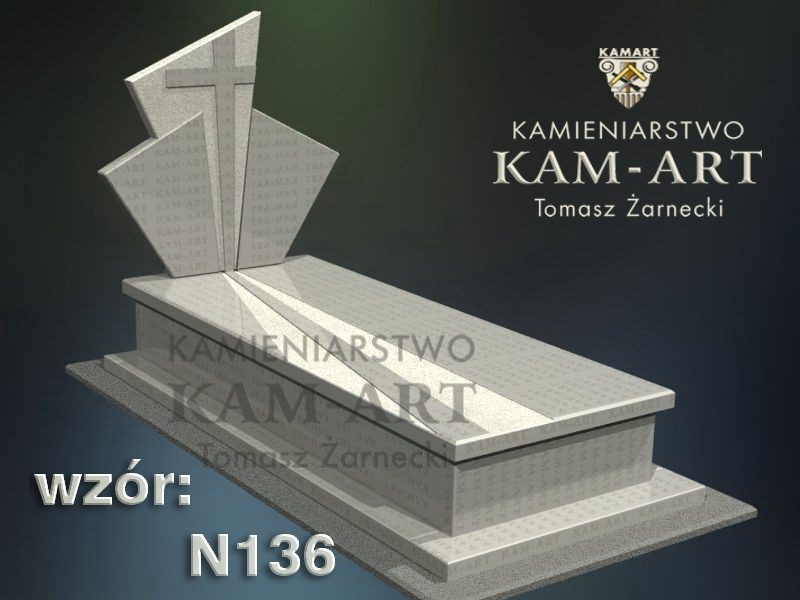 wzór-nagrobka-granitowego-kamieniarstwo-Kraków-136