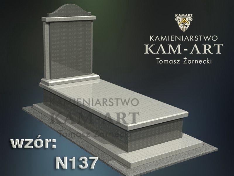 wzór-nagrobka-granitowego-kamieniarstwo-Kraków-137
