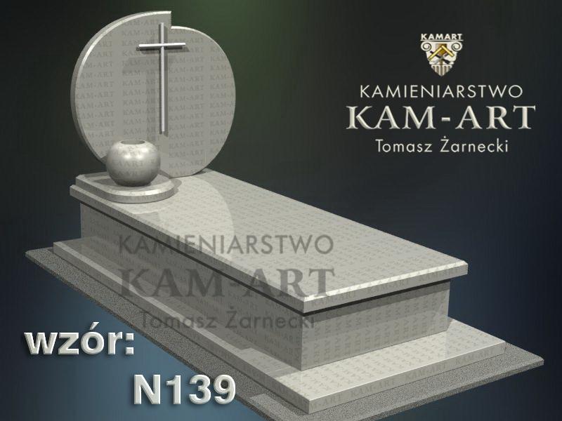 wzór-nagrobka-granitowego-kamieniarstwo-Kraków-139