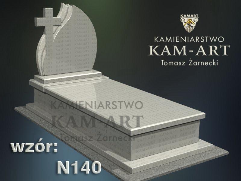 wzór-nagrobka-granitowego-kamieniarstwo-Kraków-140