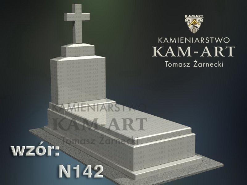 wzór-nagrobka-granitowego-kamieniarstwo-Kraków-142