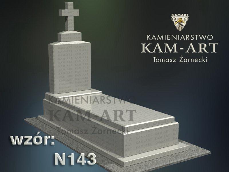 wzór-nagrobka-granitowego-kamieniarstwo-Kraków-143