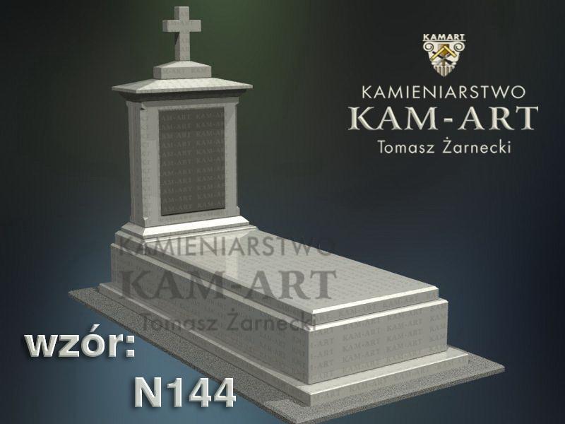 wzór-nagrobka-granitowego-kamieniarstwo-Kraków-144