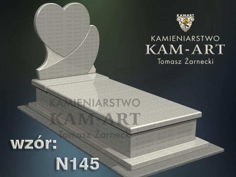 wzór-nagrobka-granitowego-kamieniarstwo-Kraków-145