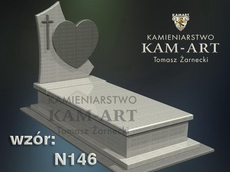 wzór-nagrobka-granitowego-kamieniarstwo-Kraków-146