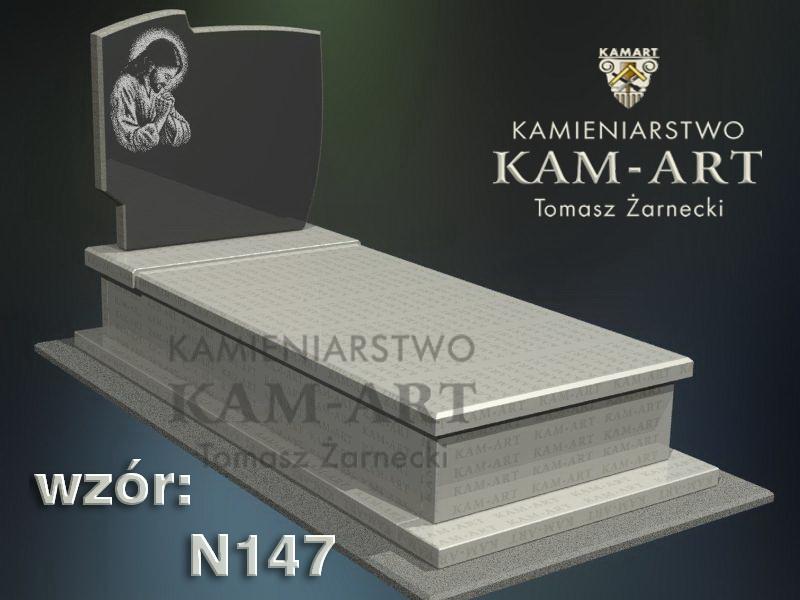 wzór-nagrobka-granitowego-kamieniarstwo-Kraków-147