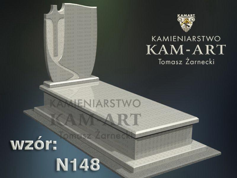 wzór-nagrobka-granitowego-kamieniarstwo-Kraków-148