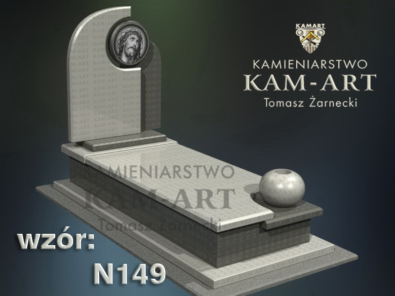 wzór-nagrobka-granitowego-kamieniarstwo-Kraków-149