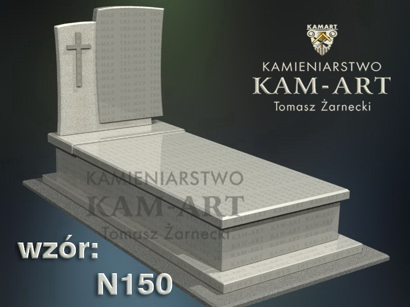 wzór-nagrobka-granitowego-kamieniarstwo-Kraków-150