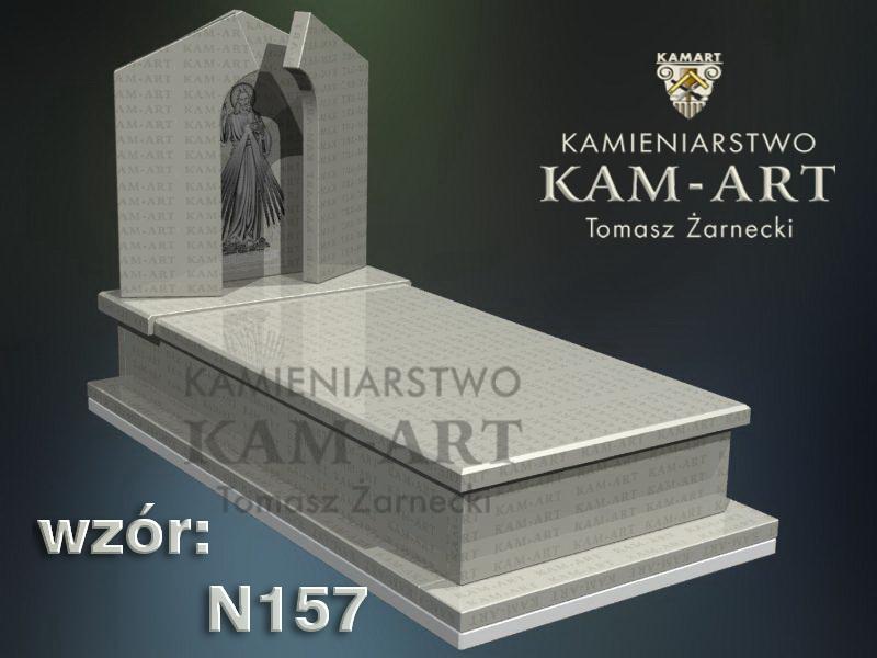 wzór-nagrobka-granitowego-kamieniarstwo-Kraków-157