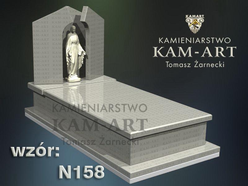 wzór-nagrobka-granitowego-kamieniarstwo-Kraków-158