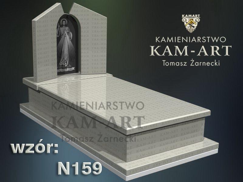 wzór-nagrobka-granitowego-kamieniarstwo-Kraków-159
