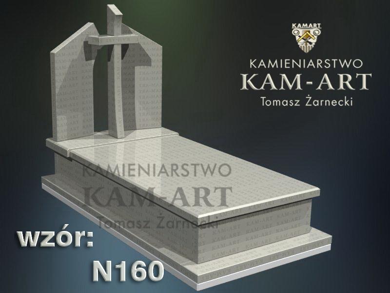 wzór-nagrobka-granitowego-kamieniarstwo-Kraków-160