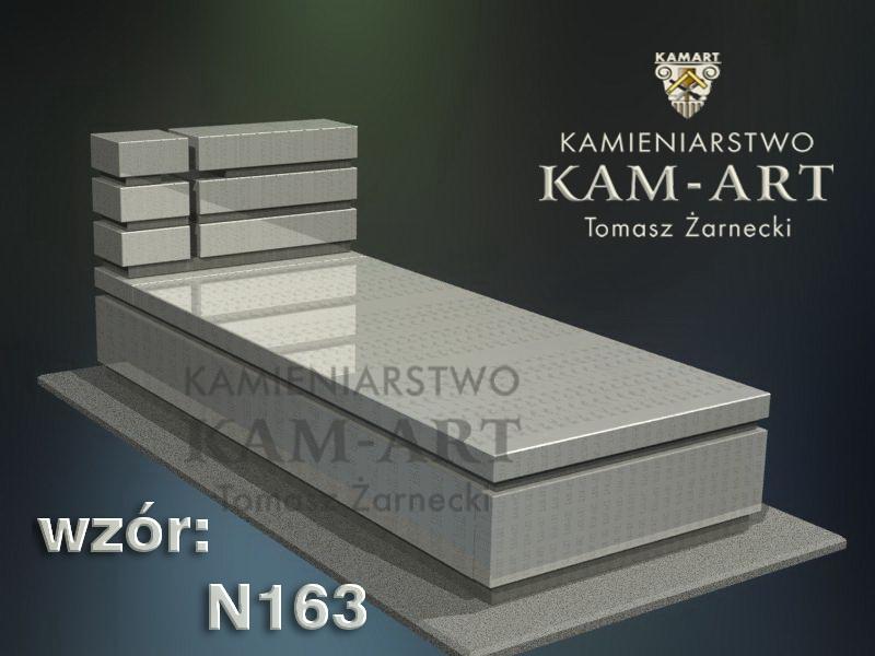 wzór-nagrobka-granitowego-kamieniarstwo-Kraków-163