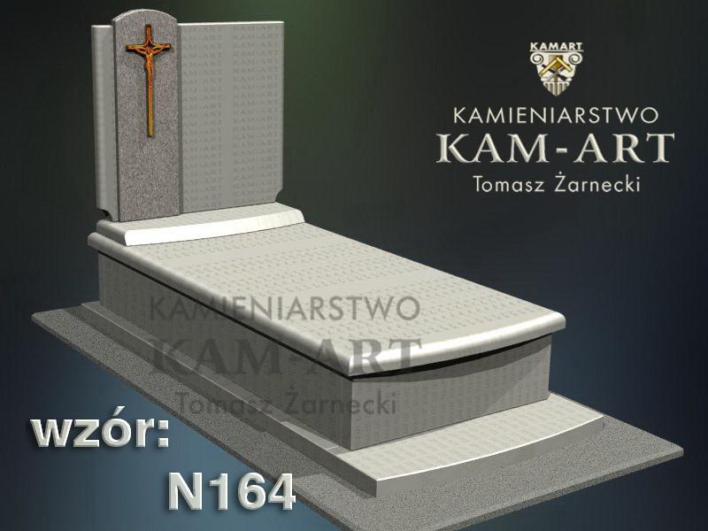 wzór-nagrobka-granitowego-kamieniarstwo-Kraków-164