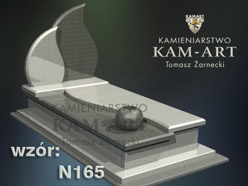 wzór-nagrobka-granitowego-kamieniarstwo-Kraków-165