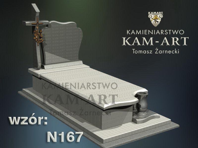 wzór-nagrobka-granitowego-kamieniarstwo-Kraków-167