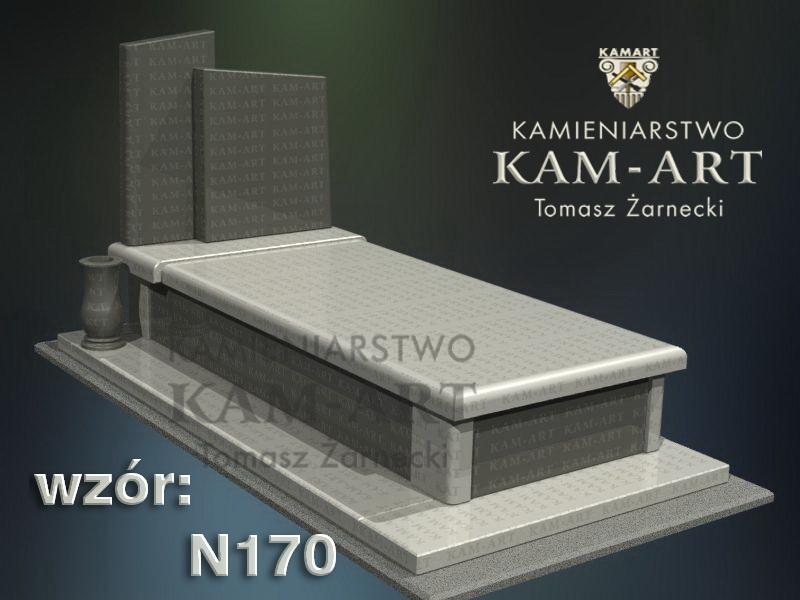 wzór-nagrobka-granitowego-kamieniarstwo-Kraków-170