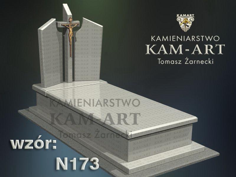 wzór-nagrobka-granitowego-kamieniarstwo-Kraków-173