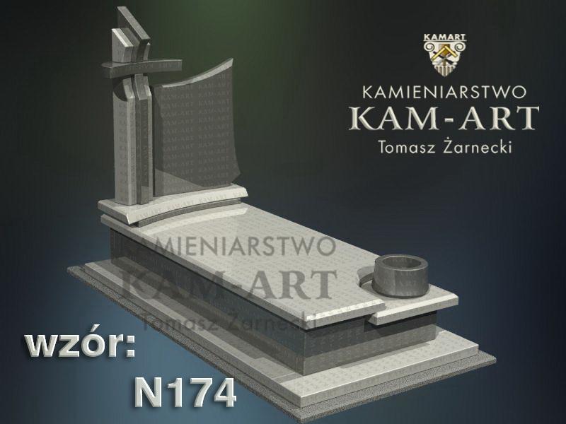 wzór-nagrobka-granitowego-kamieniarstwo-Kraków-174