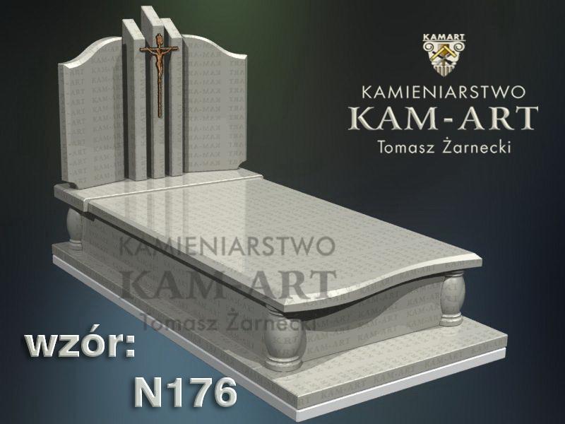 wzór-nagrobka-granitowego-kamieniarstwo-Kraków-176