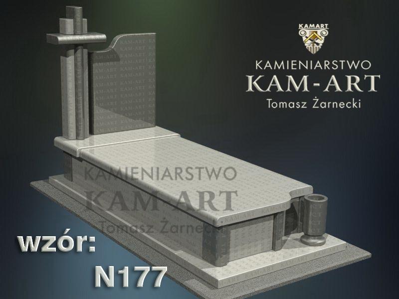 wzór-nagrobka-granitowego-kamieniarstwo-Kraków-177