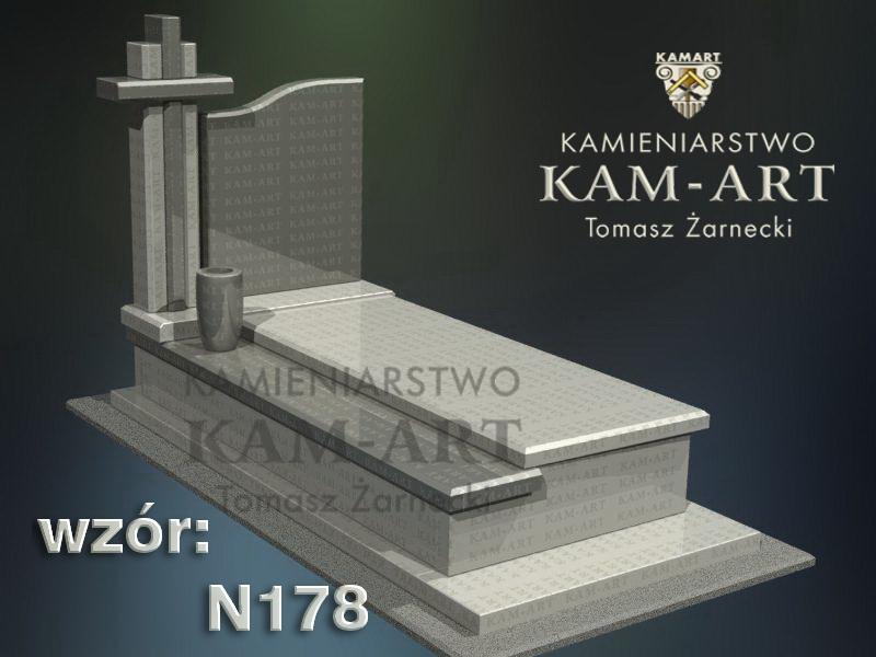 wzór-nagrobka-granitowego-kamieniarstwo-Kraków-178