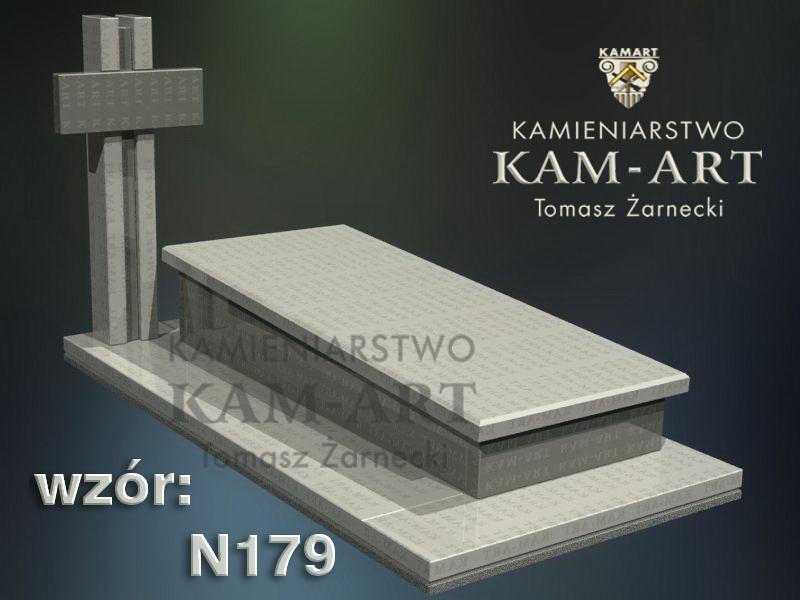 wzór-nagrobka-granitowego-kamieniarstwo-Kraków-179